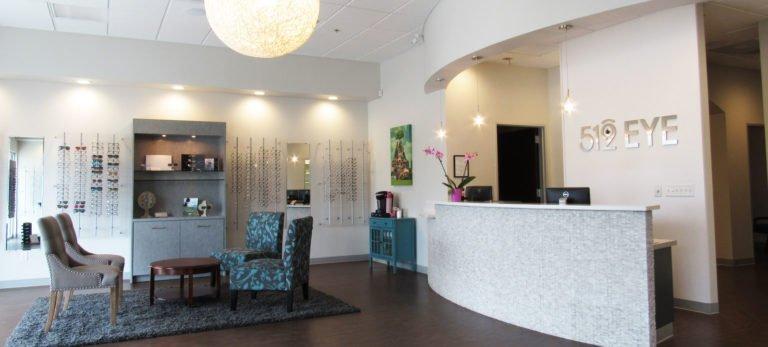 Eye doctor's office in South Austin, TX